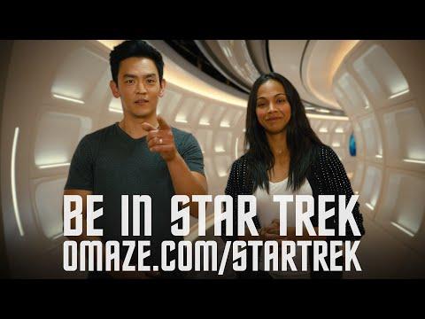 Zoe Saldana & John Cho share secrets of the Enterprise