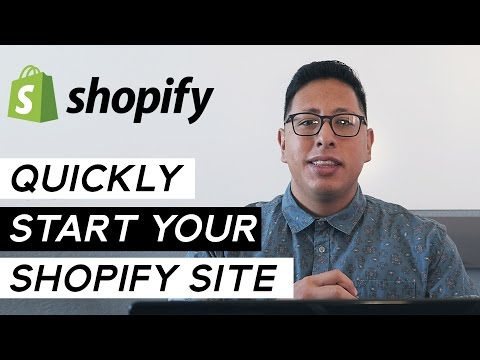 Shopify Tutorial For Beginners | Create A Website In Under 15 Minutes
