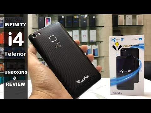 CONDOR INFINITY I4 TELENOR UNBOXING AND REVIEW