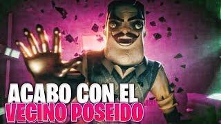 ACABO CON EL VECINO POSEIDO Y SU CASA NUEVA  ! | SECRET NEIGHBOR LANZAMIENTO OFICIAL! TODO LO NUEVO
