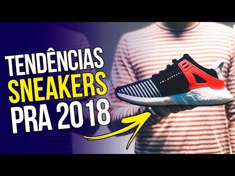 👟 Os SNEAKERS em alta para 2018 - Tendências em Tênis pra 2018 (feat. SneakersBR) 👟