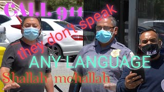 911, THE EMERGENCY IS THEY DON'T SPEAK ANY LANGUAGE #SHALLAHmehallah #sgvnewsfirst #hullahHULLAH