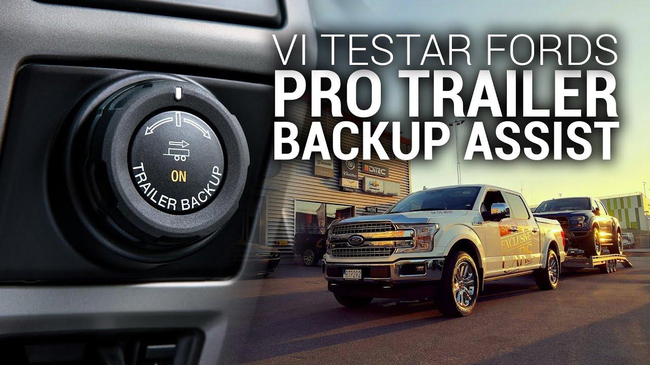 Ford Trailer Backup Assist >> Ford F 150 Pro Trailer Backup Assist