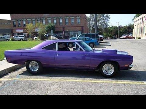 Car Show Dallas >> 1969 Roadrunner 440 Start up! LOUD - YouTube