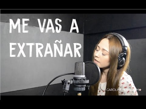 Me vas a extrañar - Banda MS (Carolina Ross cover) En Vivo Sesión Estudio