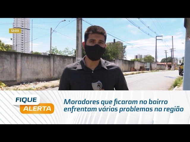Pinheiro: Moradores que ficaram no bairro enfrentam vários problemas na região
