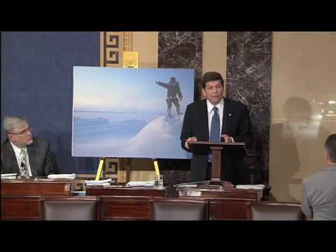 Begich speech on Arctic Issues and Climate Change