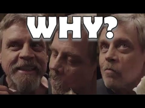 MARK HAMILL SHAVES HIS LUKE SKYWALKER BEARD. WHAT ABOUT STAR WARS EPISODE IX THO? EH? LUKE? Oh no.