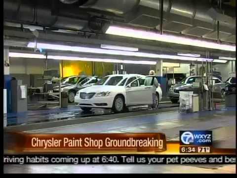 Chrysler New Paint Shop YouTube - Chrysler shop