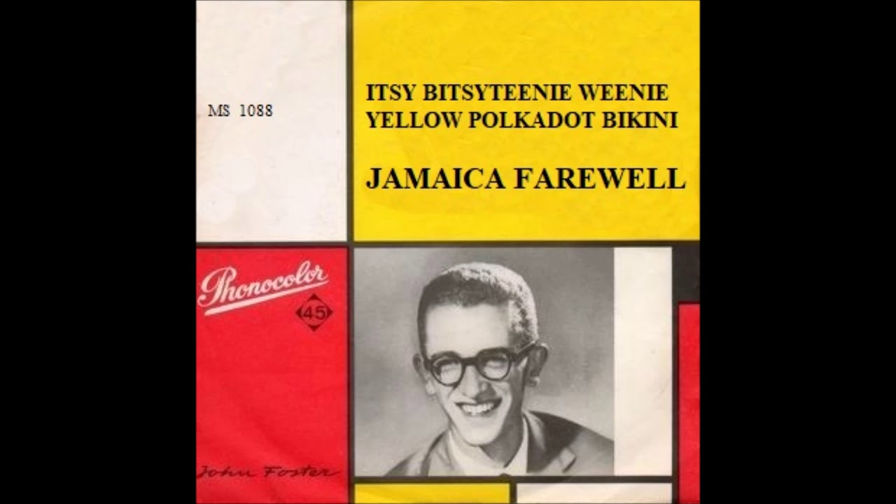 Poster design john foster - John Foster Itsy Bitsy Teenie Weenie Yellow Polkadot Bikini