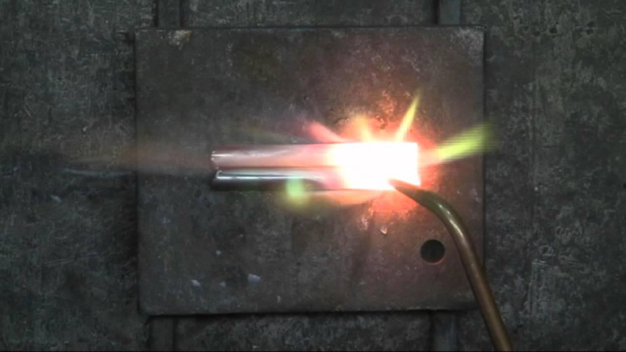 Basic Oxygen Acetylene Gas Welding - YouTube
