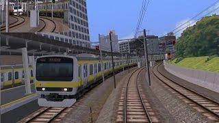 【Railsim】リアルに再現!!中央線E233系 新宿~東京 前面展望 thumbnail