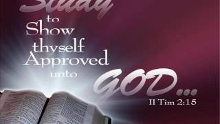 DOES GOD APPROVE OF YOU?.. 2 TIMOTHY 3:12-17 .. MP3