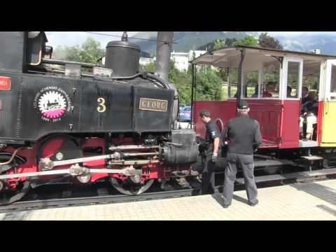 European Rail Tour 2015 Austria Jenbach to Achenkirch Mountain Railroad