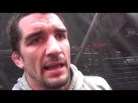 Brent Metcalf after Beat the Streets win in Times Square