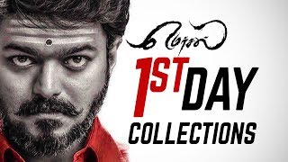 RECORD: Mersal's First Day Box-Office Collection! | Vijay | Atlee | TK 520