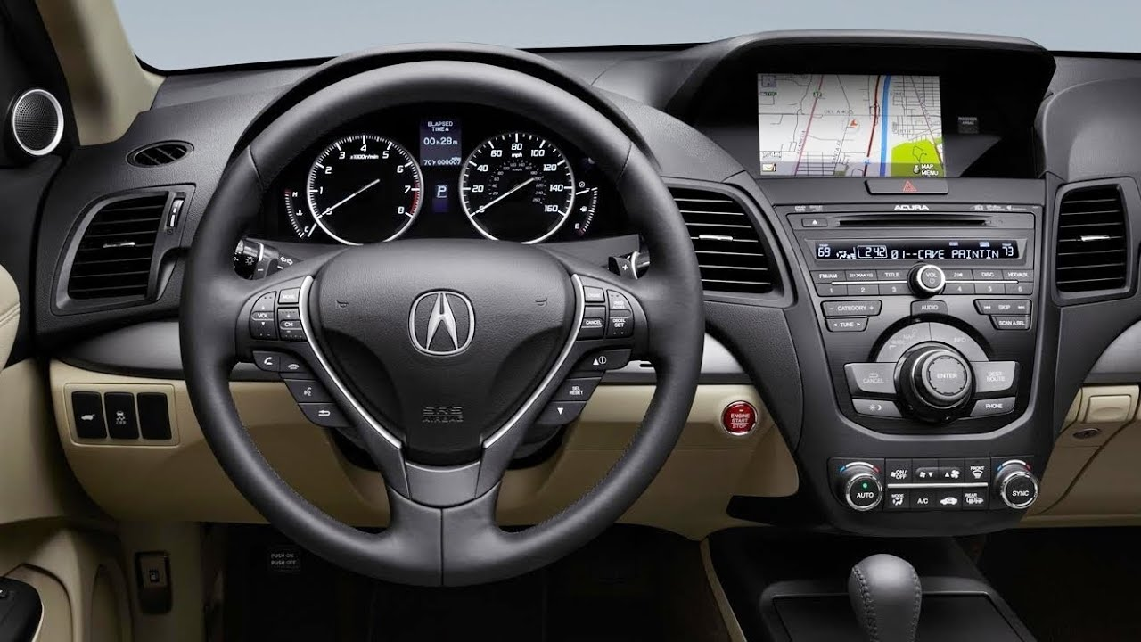 2015 acura rdx interior youtube. Black Bedroom Furniture Sets. Home Design Ideas