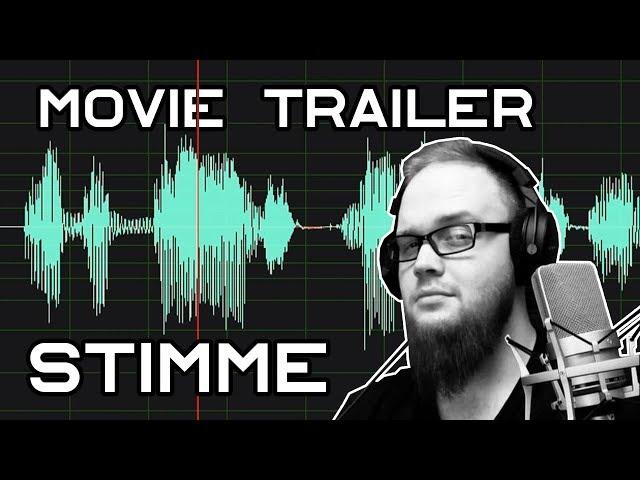 TRAILER STIMME - Tutorial (Adobe Audition 2019)   Ranzratte1337
