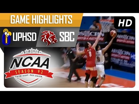 UPHSD vs SBC | Game Highlights | NCAA 92 - July 19, 2016