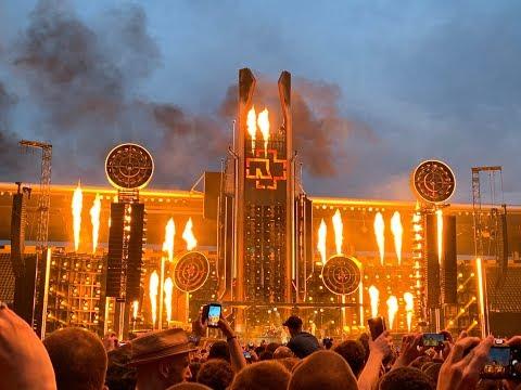 Rammstein european stadium tour 2019 setlist