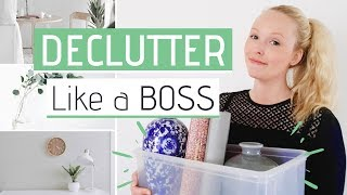Minimalism For Beginners » Best Declutter Tips You Need To Know