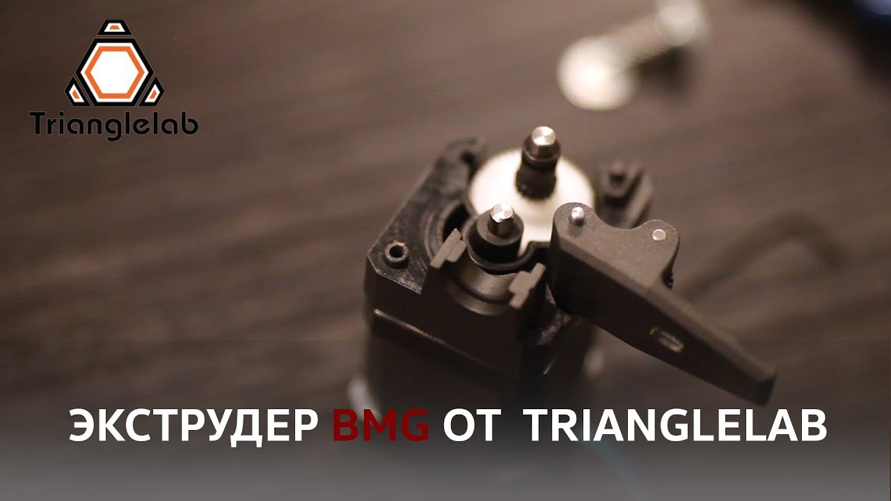 High-quality extruder from the company Trianglelab