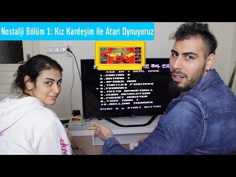 Nostalji Bölüm 1: Kız Kardeşim ile Atari Oynuyoruz