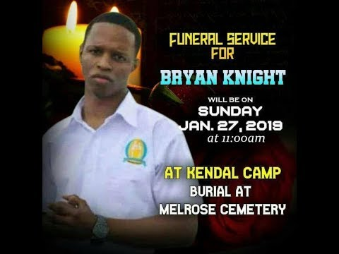 Brian Knight Funeral Service   ((((Delayed Broadcast))))