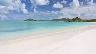 2 Minutes 4K Scene: Antigua Beach - Nature Relaxation™ Moment of Zen #5