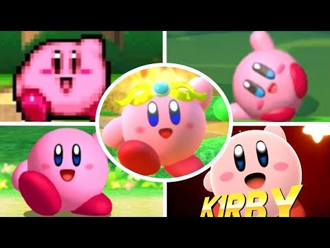 Evolution of Kirby Victory Dances (1992 - 2018)