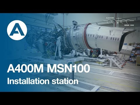 21. How to build an A400M - Installation station