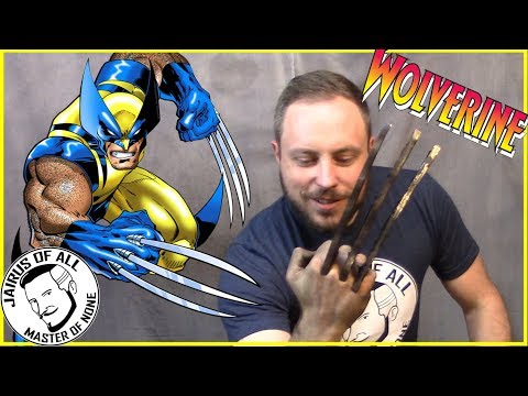 BECOMING A SUPERHERO 1 - Wolverine Bone Claws