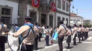 Fanfarra dos Escuteiros de Ronfe-Guimarães | Festas da Cidade de Penafiel 2015