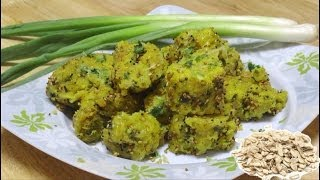 Oats & Spring Onion Muthia Recipe Video By Bhavna - Steamed Savory Quick & Healthy!