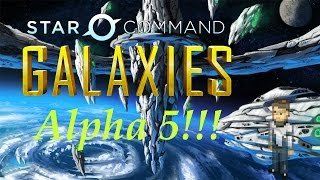 Star Command Galaxies Alpha 5