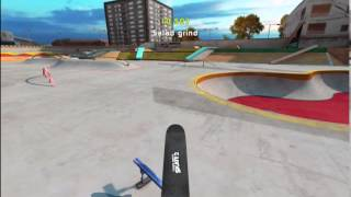 Touchgrind Skate 2 iOS Gameplay