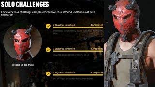 Ghost Recon Wildlands El Tio Broken Mask Season 4 Challenge Walkthrough - No Commentary