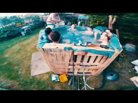WE BUILT A HOT TUB!!!