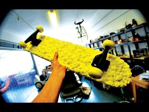 First 3D Printed Skateboard