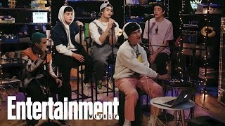 PRETTYMUCH Performs 'Gone 2 Long' | In The Basement | Entertainment