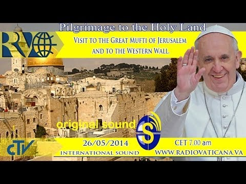 Visit to the Great Mufti of Jerusalem and to the Western Wall