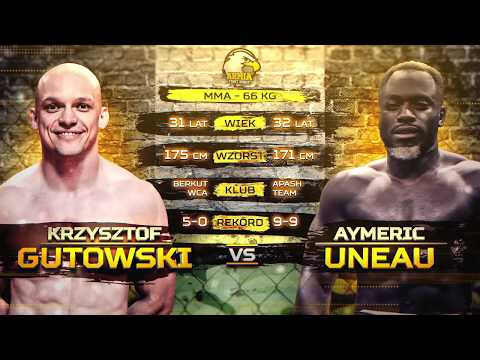 "AMERIC ""SOLDAT"" UNEAU VS KRZYSZTOF GUTOWSKI full fight video"