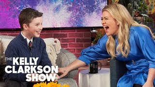 Iain Armitage's Adorable Compliment To Kelly Made Her Want To End The Show And 'Go Cry'