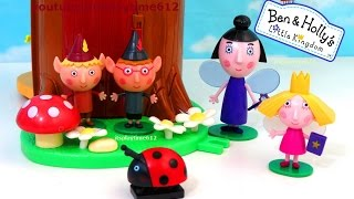 Ben and Holly 39 s Little Kingdom 1 ELF TREE Playset with Nanny Plum Wise Old Elf itsplaytime612