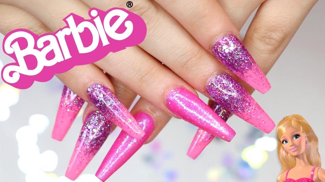 barbie nails aidette