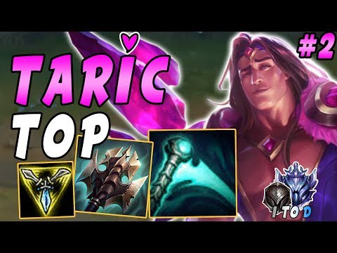 Taric TOP with Essence Reaver and Trinity Force | Iron IV to Diamond Ep #2 | Wushuzilla Adventures