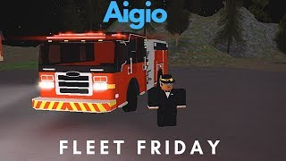 ROBLOX | Aigio Fleet Friday (Fire Department)