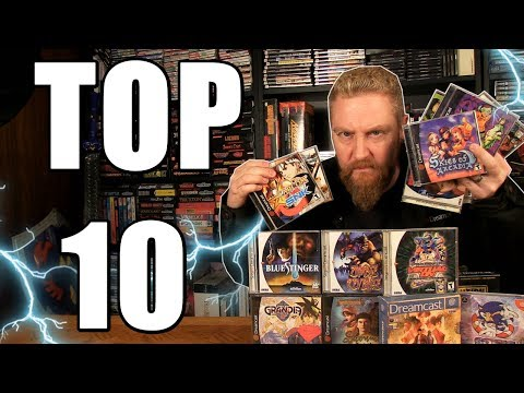 TOP 10 DREAMCAST GAMES - Happy Console Gamer