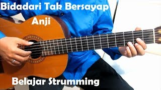 Video (Genjrengan) Bidadari Tak Bersayap Anji - Belajar Strumming Gitar Untuk Pemula download MP3, 3GP, MP4, WEBM, AVI, FLV Januari 2018