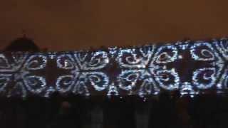 Лазерное шоу 2015  на Дворцовой площади   часть 2
